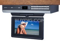 "7"" LCD Drop Down TV with Built-In DVD"