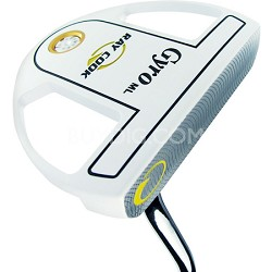 """Gyro Mallet (ML) Putter 34"""", Right Hand"""