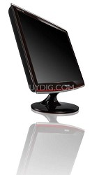 "T190 Black/Red 19"" Widescreen LCD Monitor"