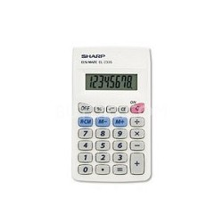 EL-233SB 8 Digit Handheld Calculator