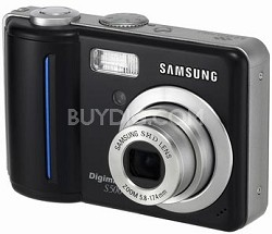 Digimax S500 5.1 mega-pixel Digital Camera (Black)
