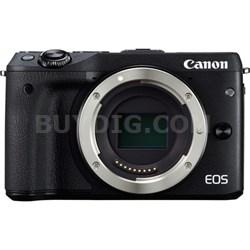 EOS M3 24.2MP Black Mirrorless Digital Camera Body