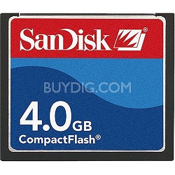 4 GB Compact Flash Memory Card