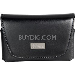 Leather Digital Camera Case For Coolpix S And L Series