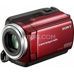 DCR-SR47 - 60 - gigabyte Hybrid Hard Drive Camcorder (Red) - OPEN BOX
