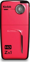 Zx1 Pocket Video Camera (Red)