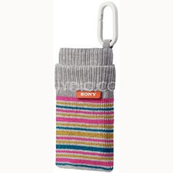 LCS-CSZ/W - Sock-like Case (Striped - White Gray)