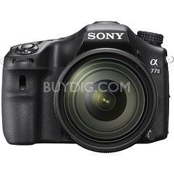 a77II 24.3MP HD 1080p DSLR Camera with 16-50mm F2.8 Lens - OPEN BOX