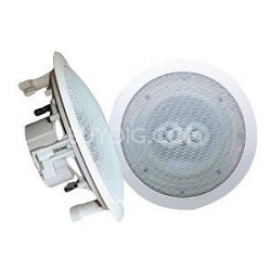 PWRC62 6.5-Inch In-Ceiling Dual-Channel/Voice Coil Weather Proof Speaker