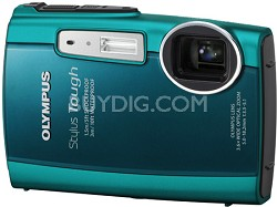 Stylus Tough 3000 Waterproof Shockproof Freezeproof Digital Camera (Green)