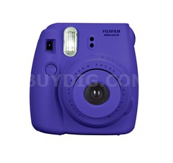 Instax 8 Color Instax Mini 8 Instant Camera - Grape - OPEN BOX