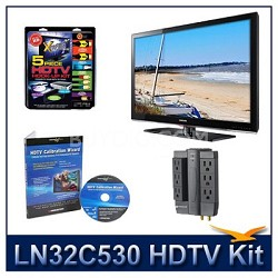 LN32C530 - HDTV + High-performance Hook-up Kit + Power Protection + Calibration