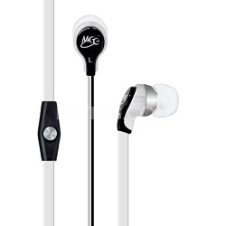 RX12P In-Ear Headphones with Inline Microphone - White
