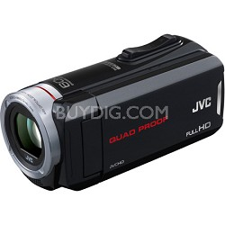 GZ-R30B 8GB Built-In Memory Quad Proof HD Touchscreen Camcorder