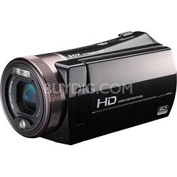 """1080p High-Definition Camcorder with 10MP Image Sensor, 5X Optical Zoom and 3"""" T"""