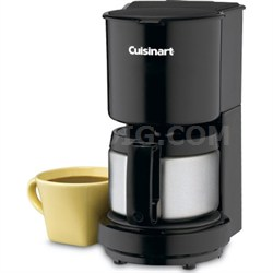 4-Cup Coffeemaker with Stainless-Steel Carafe - Factory Refurbished