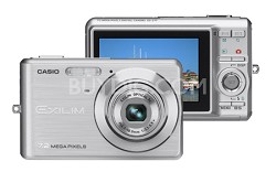 EXILIM EX-Z77 - 7.2MP Digital Zoom Camera (Silver)
