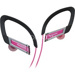 RP-HS220-P Inner Ear Clip Sports Earphones with Extension (Pink)