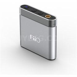 A1 Portable Headphone Amplifier (Silver)
