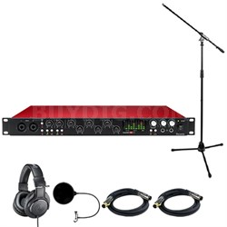 Scarlett 18i20 USB Audio Interface (2nd Gen) w/ Headphone Bundle