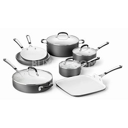 11-pc. Ceramic Nonstick Cookware Set - 1882025