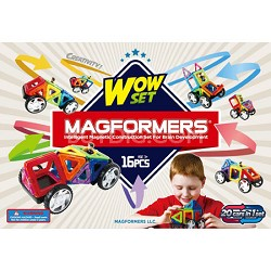 63094 Wow 16pc Vehicle Construction Set