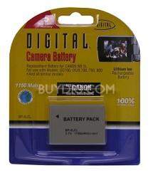 BP-5LCL 1150mah Battery Pack F/ Powershot SD700, SD800, SD850, SD900 (NB-5L)