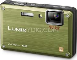 DMC-TS1G LUMIX 12.1 Megapixel TOUGH Digital Camera (Green)