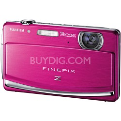 FINEPIX Z90 5x Wide Angle Zoom 14 MP Digital Camera (Pink)