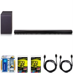 SH5B 2.1ch 320W Sound Bar w/ Wireless Subwoofer + Bluetooth Connectivity Bundle
