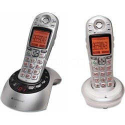 A600 Amplified Talking DECT 6.0 Cordless Phone with Additional Handset Included