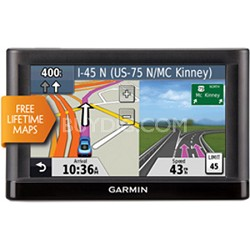 "nuvi 52LM 5.0"" GPS Navigation System with Lifetime Map Updates"