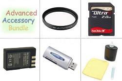 Elite Accessory Bundle for Nikon D40 / D40X 18-135mm Kit