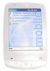 Protective silicone skin for iPaq 2400 Series w/ removable belt clip