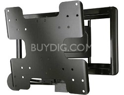"Super Slim Full Motion Wall Mount For 26"" - 47"" TVs, Extends 8"" - VMF408"