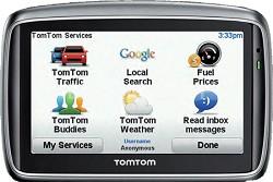 GO 740 Car Navigator GPS w/ 4.3 inch Touchscreen