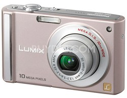 DMC-FS20 (Pink) 10 Megapixel Digital Camera w/ 3-inch LCD & 4x Optical Zoom