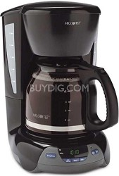 VBX23 12-Cup Coffee Maker, Black