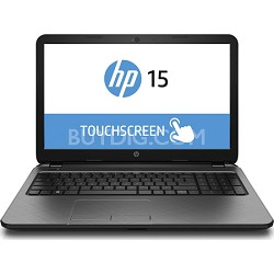 "TouchSmart 15-r150nr 15.6"" HD Notebook PC - Intel Core i3-4005U Processor"