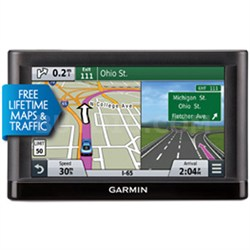 Nuvi 65LMT Essential Series GPS w Lifetime Maps, Traffic-Refurb 1 Year Warranty