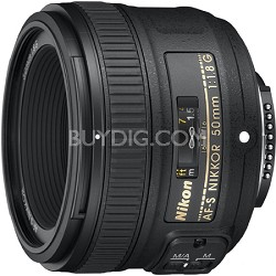 50mm f/1.8G AF-S DX NIKKOR Lens for Nikon Digital SLR Cameras