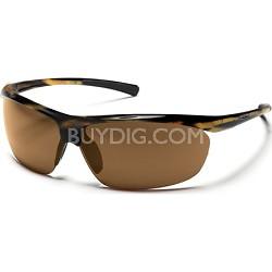 Zephyr Sunglasses Tortoise Frame/Brown Polarized Lens