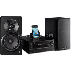 100W Bluetooth Audio Micro System CD/MP3/WMA/iPod/iPad/iPhone (Black) - XLHF202P