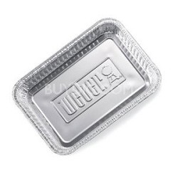 6415 Small 8-1/2-Inch-by-6-inch Aluminum Drip Pans - Set of 10