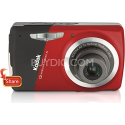"EasyShare M530 12 MP 2.7"" LCD Digital Camera (Red)"