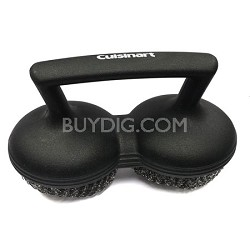 Power Scour Grill Brush, Black - CCB-505