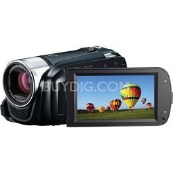 "VIXIA HF R20 8GB Flash Dual SD 1080p HD Black Camcorder w/ 3.0"" Touchscreen"