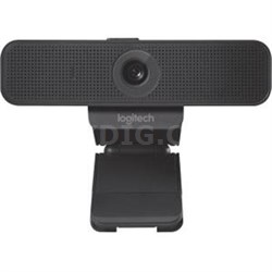 C925e Webcam with 1080p Camera and Built-In Stereo Microphones - 960-001075