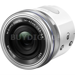 Air A01 16MP Interchangeable Lens Smartphone Camera w/ 14-42mm EZ Lens (White)