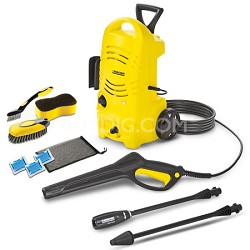 K 2.27 CCK Electric Pressure Washer & Car Care Kit
